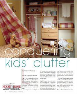 Conquer Kids' Clutter