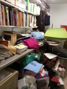 Craft storage room
