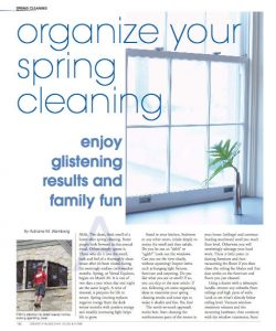 Organize Your Spring Cleaning