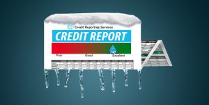 Freeze credit report